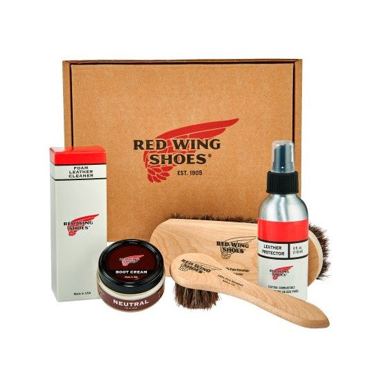 Red Wing - Smooth-Finished Leather Product Care Kit - Lardieri Store