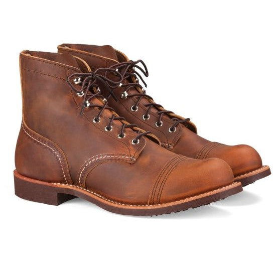 Red Wing - Iron Ranger - Cuoio Marrone - Lardieri Store