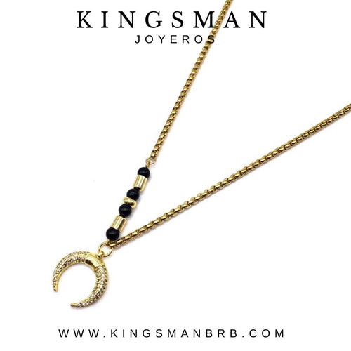 Lunar 18K Gold Necklace