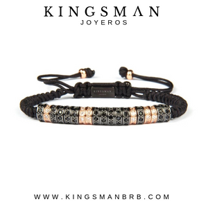 Luxury Rose Gold multi-stoppers bracelet