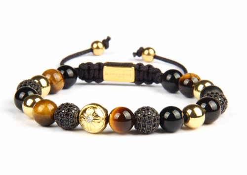 Insignia Star Tiger Eye Bracelet