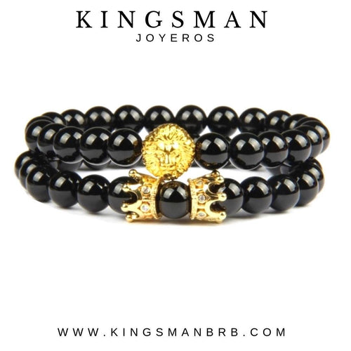 Agata Gold Lion Stack