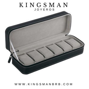 Kingsman 6 Lot Watch Traveling Box