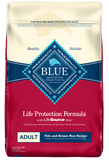 Blue Buffalo Life Protection Adult Fish and Brown Rice Recipe Dry Dog Food