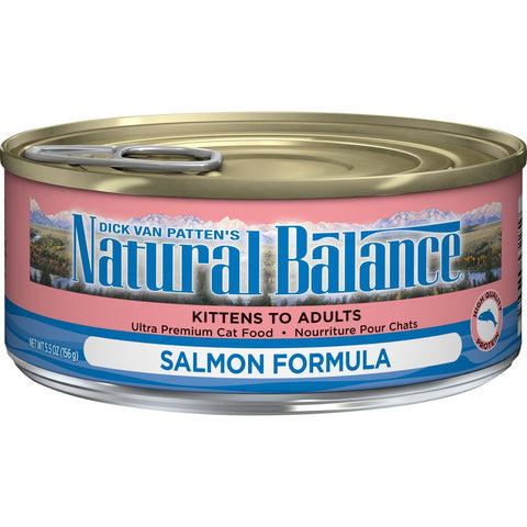 Natural Balance Salmon Formula Canned Cat Food