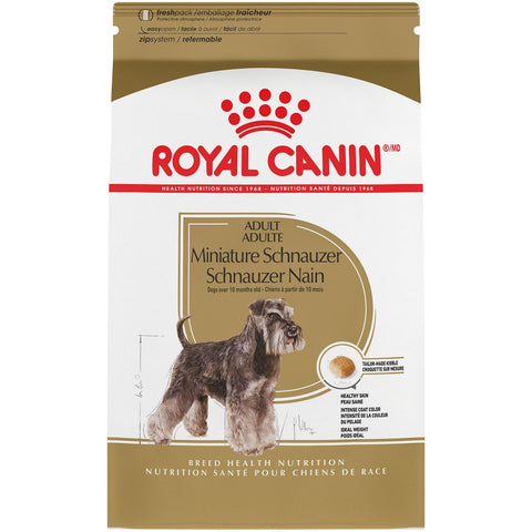 Royal Canin Breed Health Nutrition Miniature Schnauzer Adult Dry Dog Food