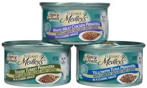 Fancy Feast Elegant Medleys Primavera Collection Canned Cat Food