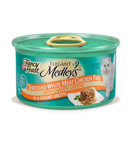 Fancy Feast Elegant Medleys Shredded Chicken Canned Cat Food