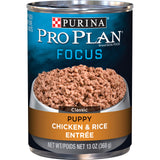 Purina Pro Plan Focus Puppy Chicken & Rice Canned Dog Food