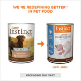 Nature's Variety Instinct Grain Free LID Turkey Canned Dog Food
