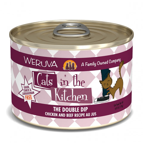 Weruva Cats in the Kitchen Double Dip Canned Cat Food