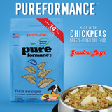 Grandma Lucy's Pureformance Fish Recipe Freeze Dried Grain Free Dog Food