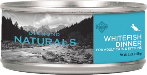 Diamond Naturals Whitefish Dinner Adult & Kitten Formula Canned Cat Food