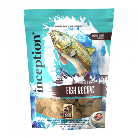 Inception FIsh Recipe Dog Training Biscuits