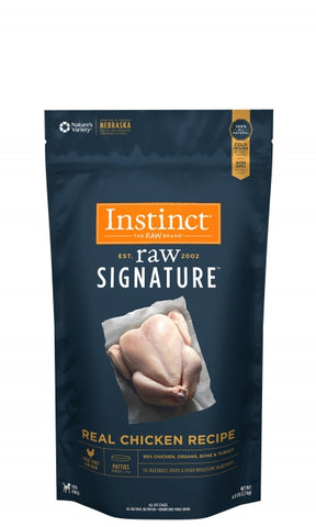 Instinct® Raw Signature™ Frozen Patties Real Chicken Recipe