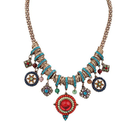 Plating Exaggerated Necklace - Mall4all