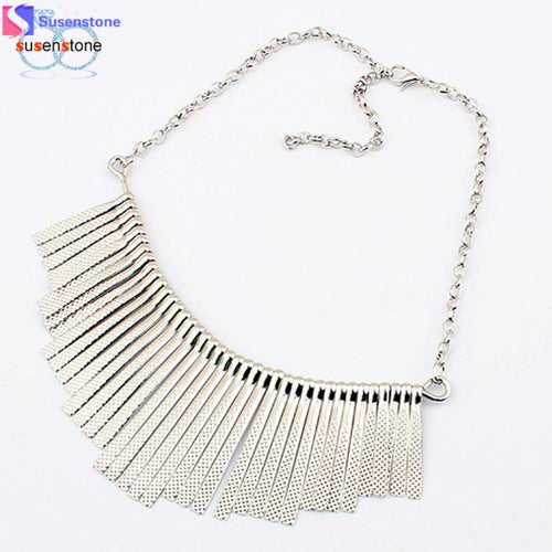 Multi- Layer Tassels Necklace - Mall4all