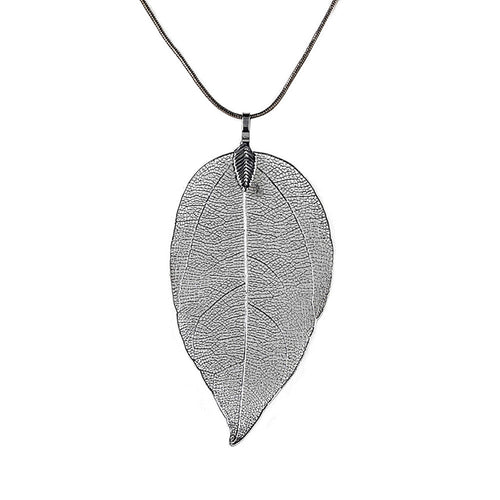 Leaf Sweater Necklace - Mall4all