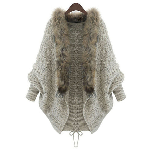 Sweater Batwing Knit Cardigan - Mall4all
