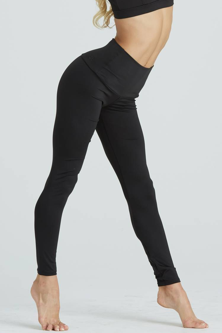 All Day Leggings Fitted Wear - Bottoms - Leggings Jo+Jax Black Large Adult