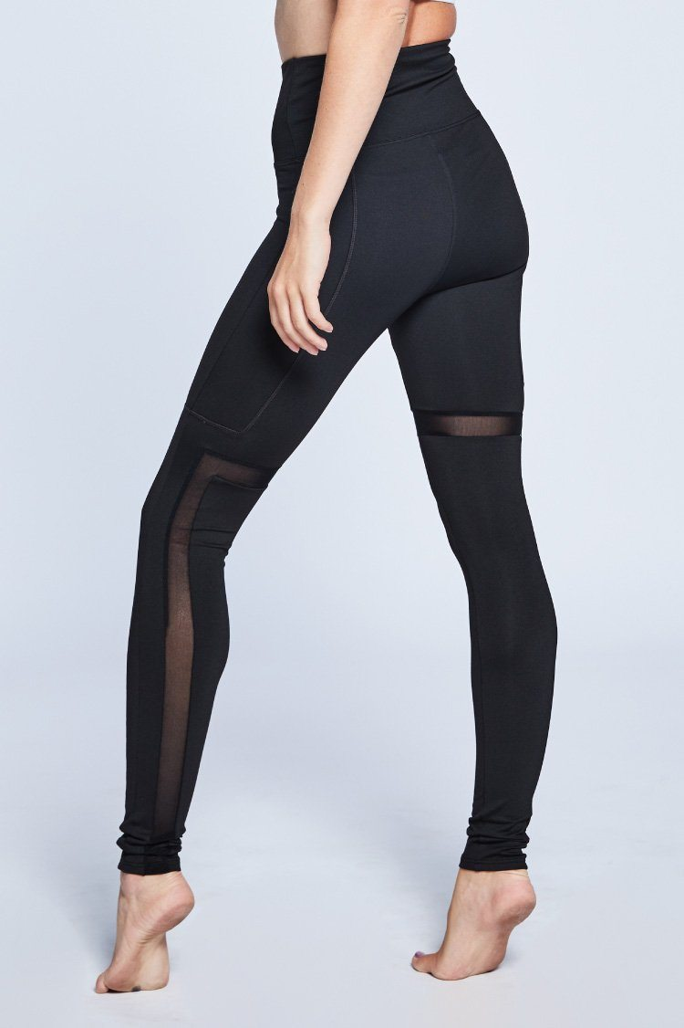 Angles Leggings Fitted Wear - Bottoms - Leggings Jo+Jax Black XX-Small Adult