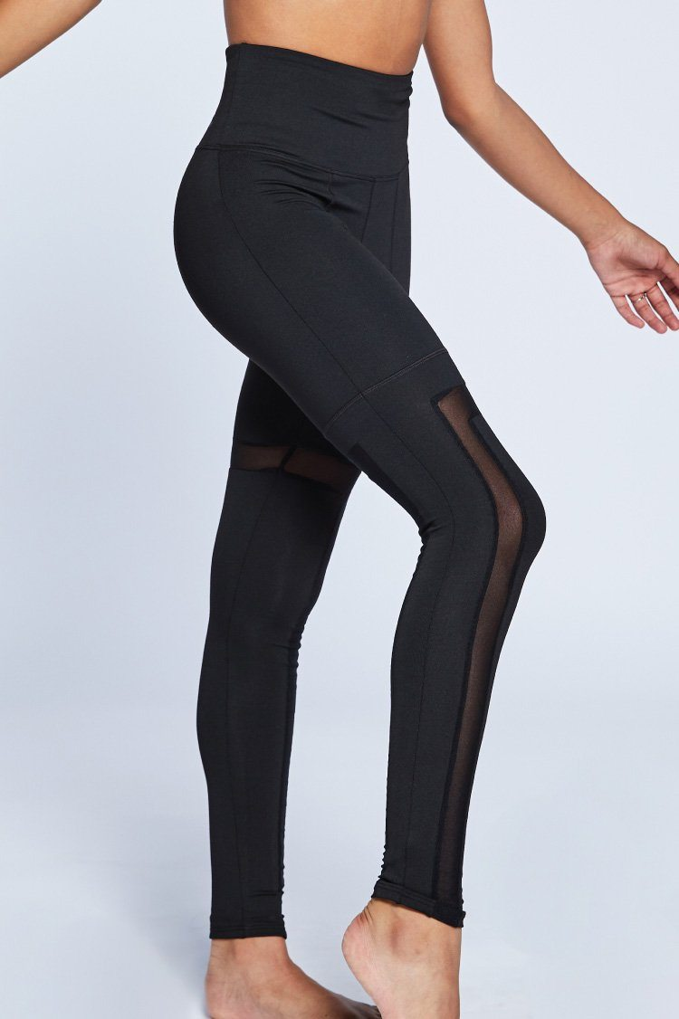 Angles Leggings Fitted Wear - Bottoms - Leggings Jo+Jax Black Youth Small