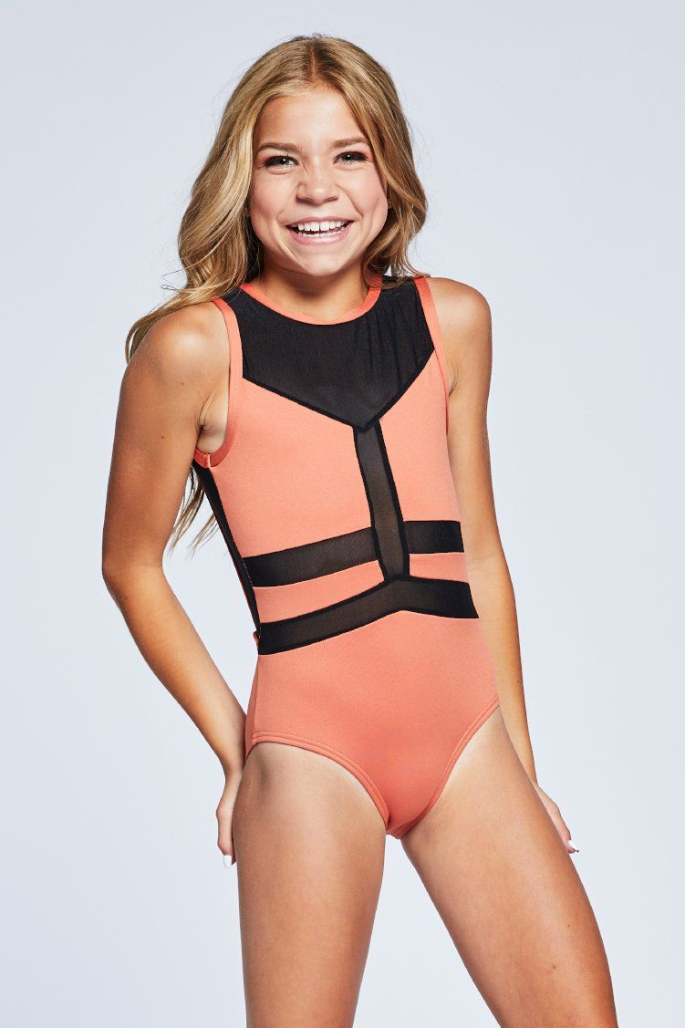 Angles Leo Fitted Wear - One Pieces - Leotards Jo+Jax Copper Youth Small