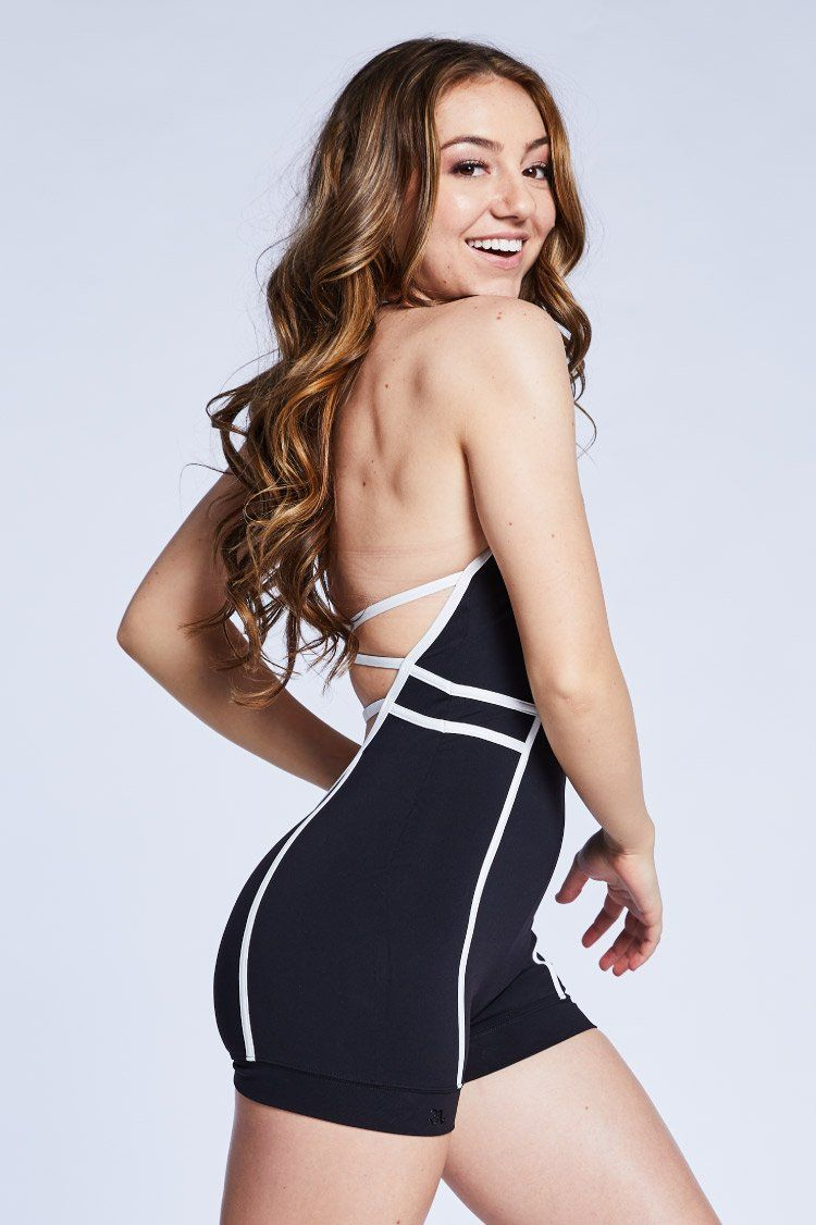 Arrow Unitard Fitted Wear - One Pieces - Unitards Jo+Jax