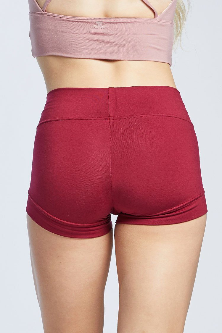 Bandit Shorts Fitted Wear - Bottoms - Shorts Jo+Jax Scarlet Small Adult
