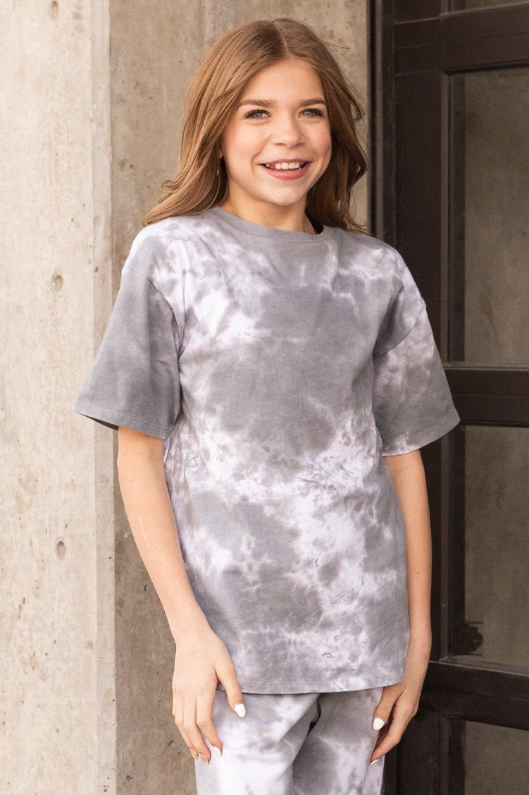 Beau Tee Cloud Youth To & From - Tops - Short Sleeve Tees Jo+Jax
