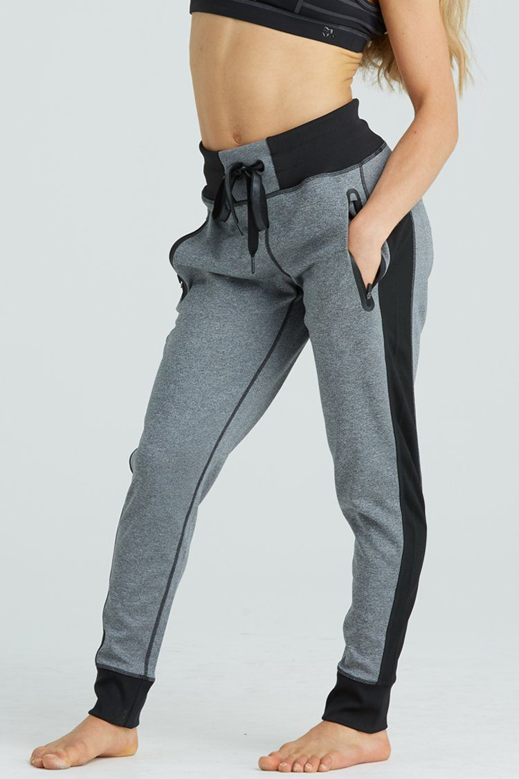 Bombshell Pants Warm-ups - Bottoms - Pants Jo+Jax Charcoal Youth Small
