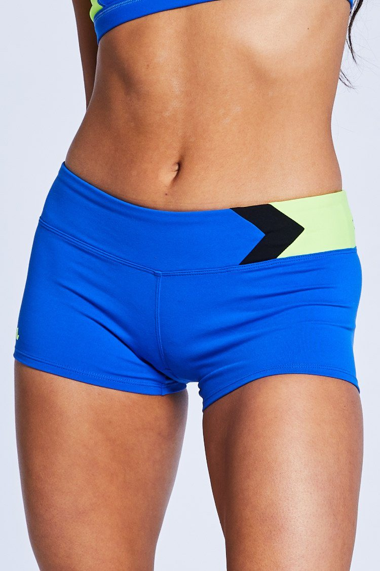 Chevron Shorts Fitted Wear - Bottoms - Shorts Jo+Jax