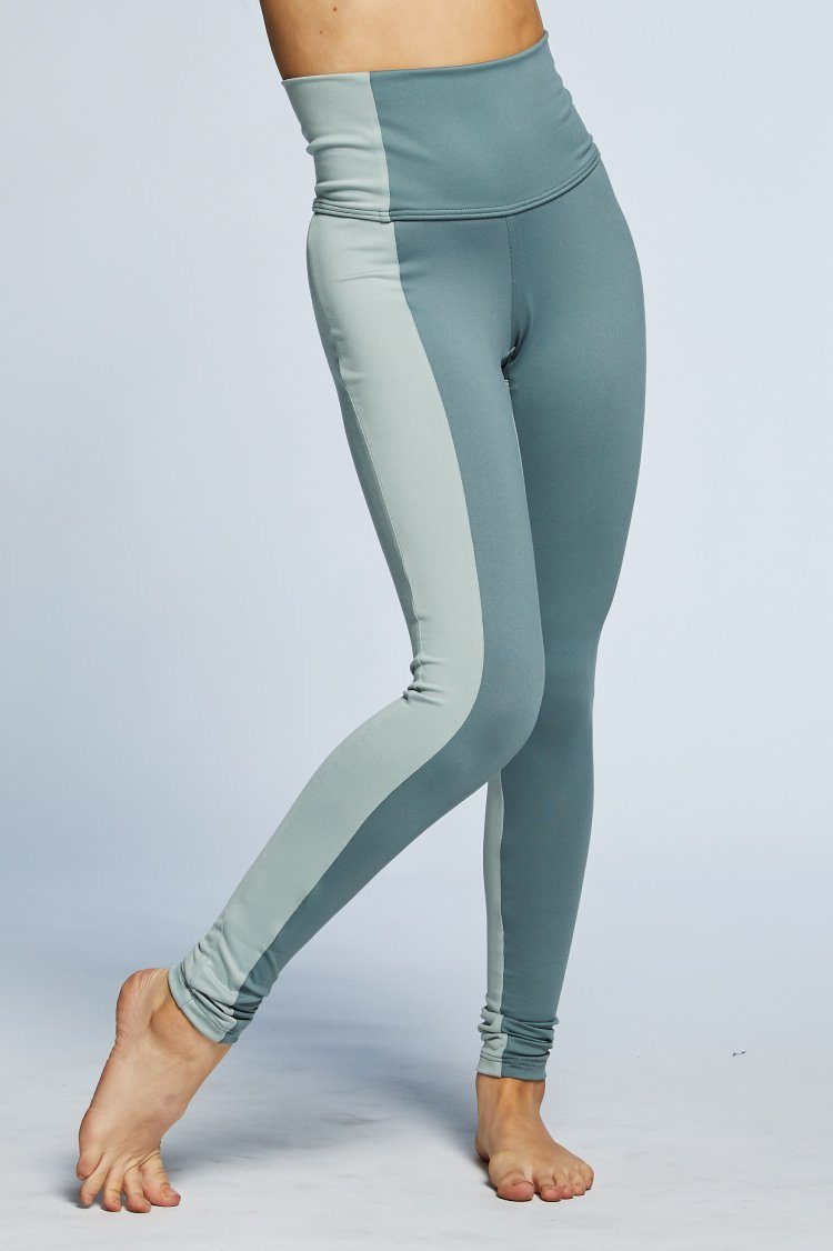 Combo Leggings Fitted Wear - Bottoms - Leggings Jo+Jax Mid Gray/Fog XX-Small Adult