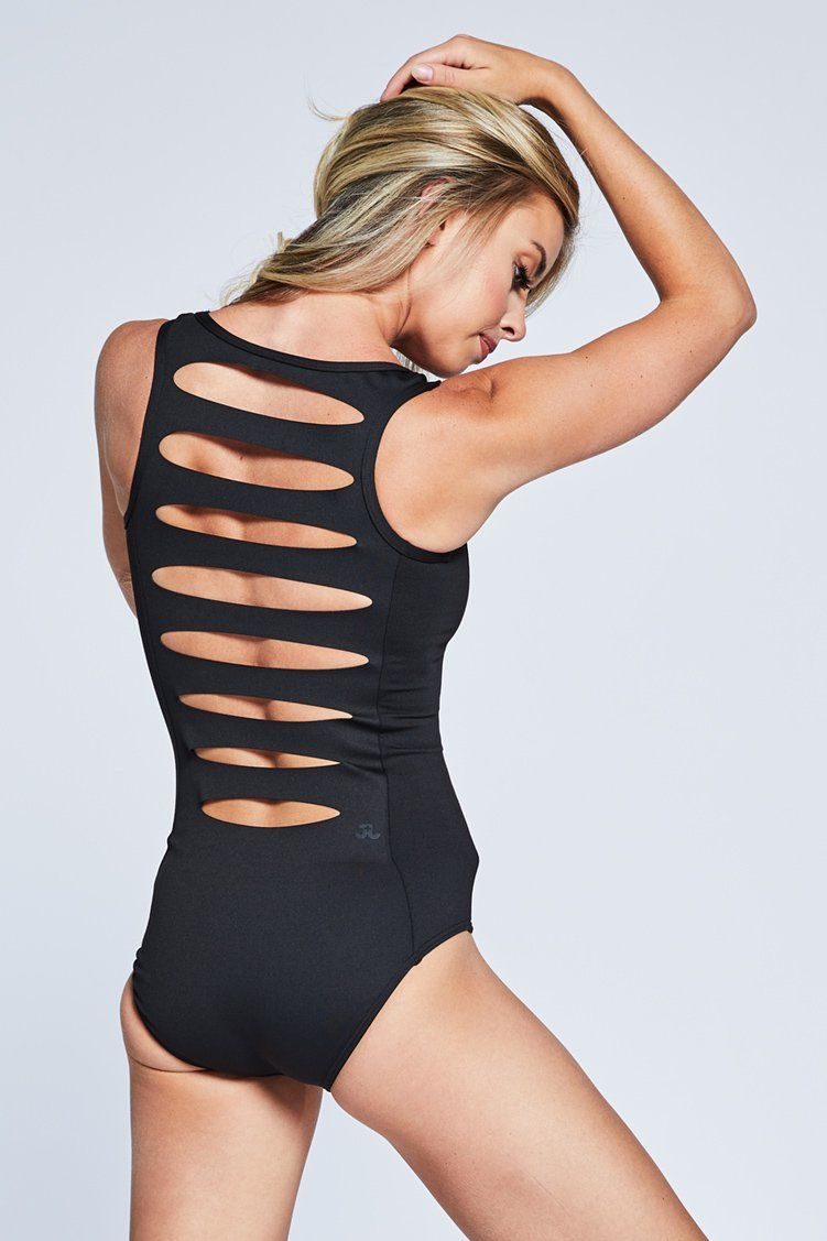 Combo Leo Fitted Wear - One Pieces - Leotards Jo+Jax Black XX-Small Adult