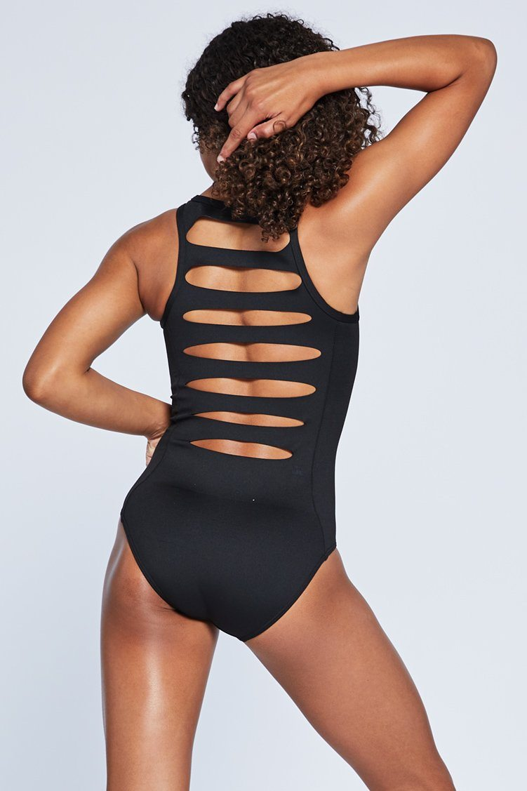 Combo Leo Fitted Wear - One Pieces - Leotards Jo+Jax Black Youth Small