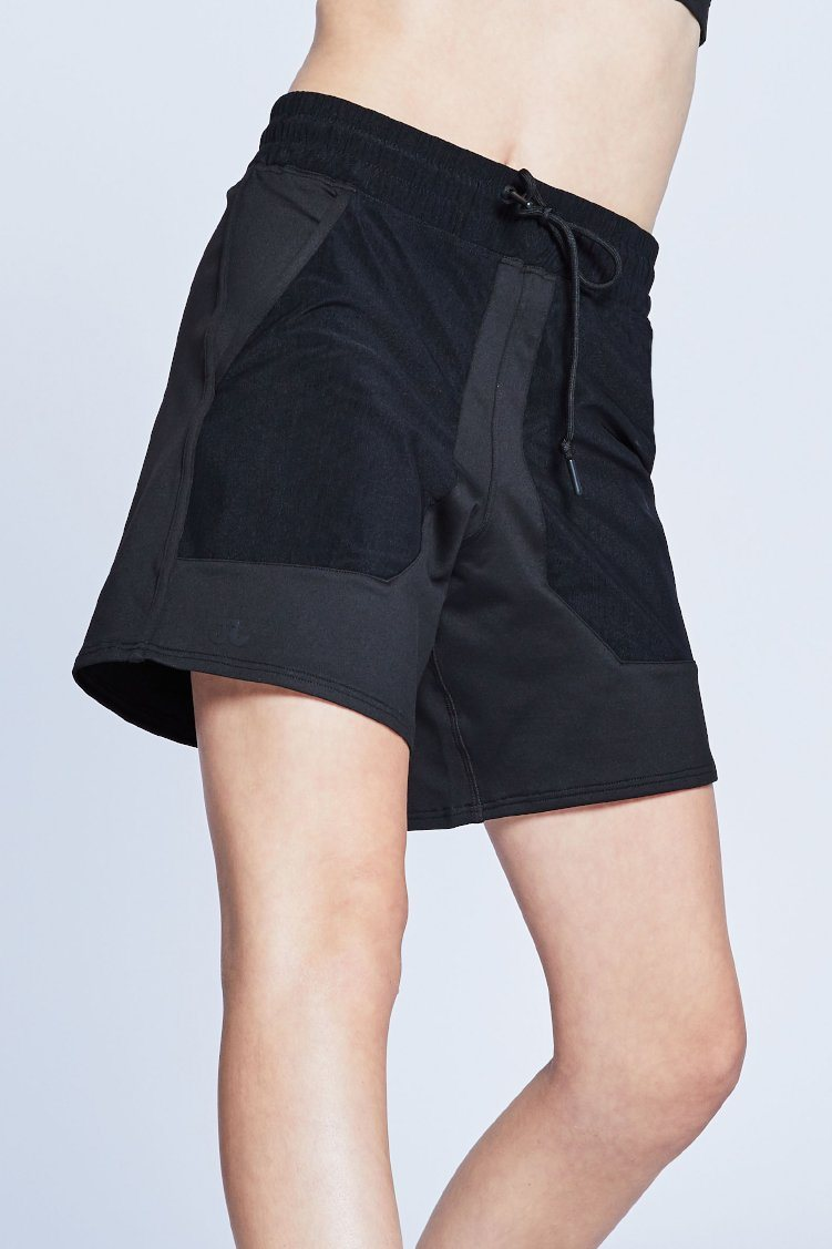 Court Shorts To & From - Bottoms - Shorts Jo+Jax Black Youth Medium