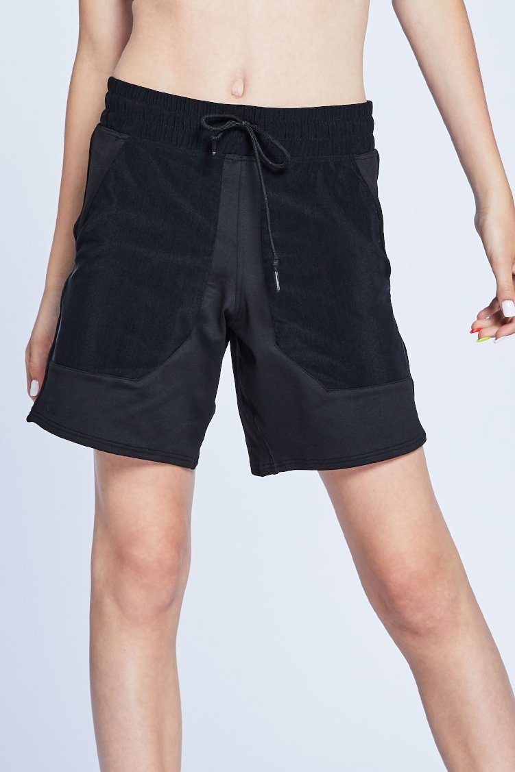 Court Shorts To & From - Bottoms - Shorts Jo+Jax Black Youth Small