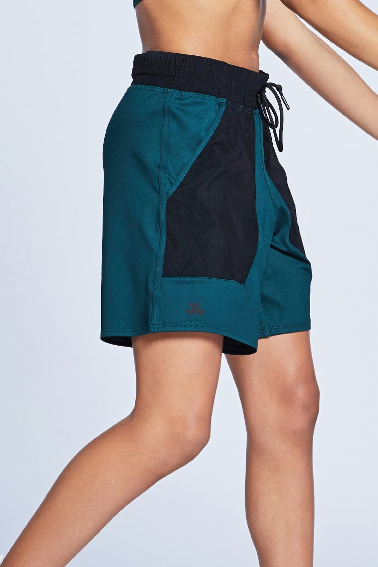 Court Shorts To & From - Bottoms - Shorts Jo+Jax Jungle/Black Youth Small