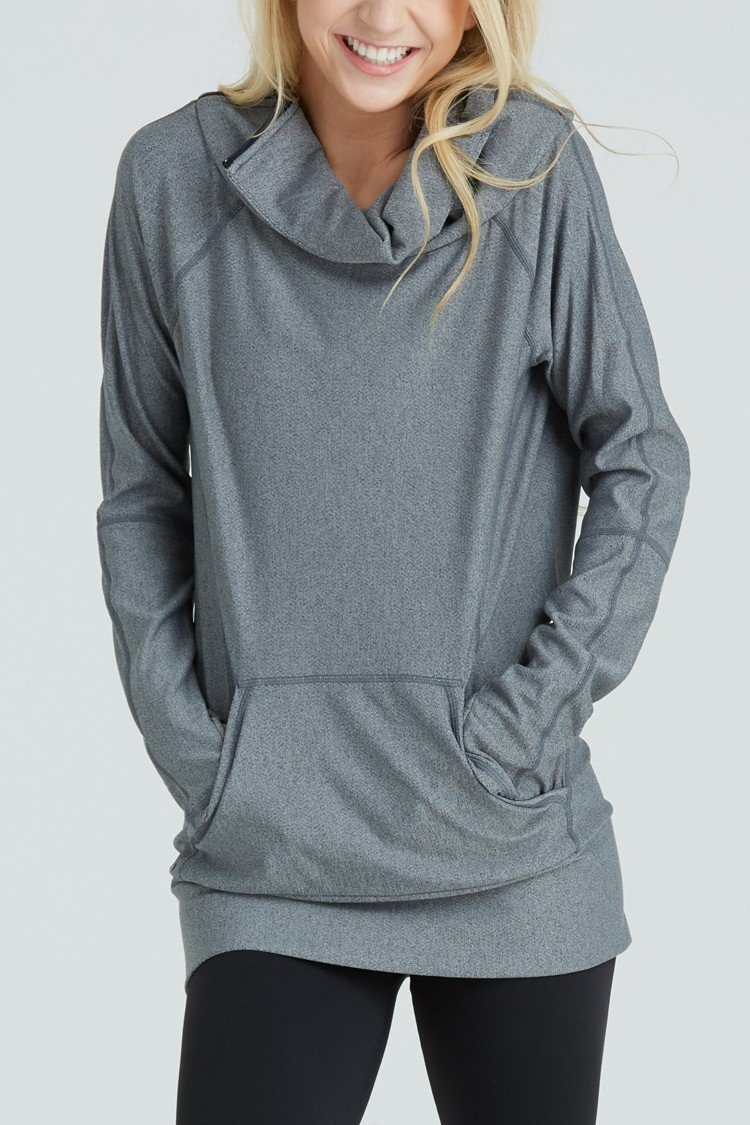 Escape Pullover To & From - Tops - Pullovers Jo+Jax Charcoal X-Small Adult