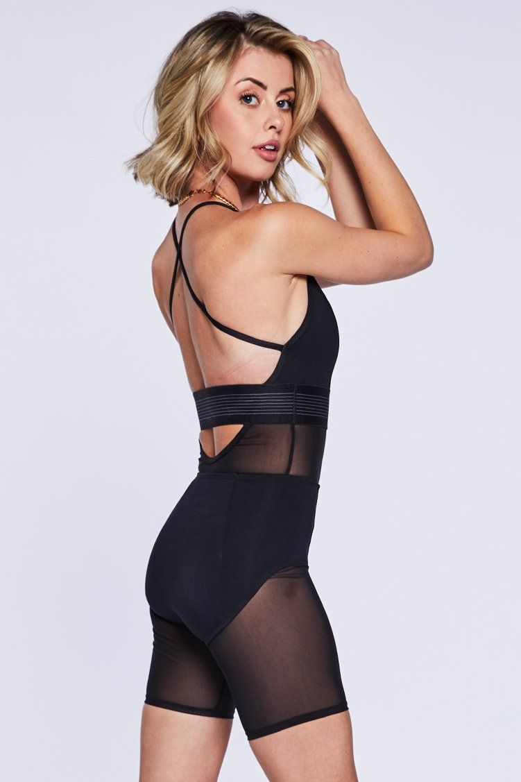Fame Biker Uni Fitted Wear - One Pieces - Unitards Jo+Jax