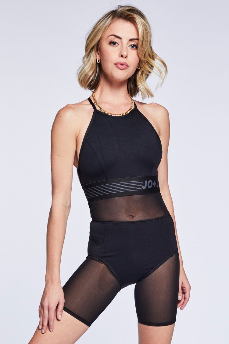 Fame Biker Uni Fitted Wear - One Pieces - Unitards Jo+Jax Black XX-Small Adult