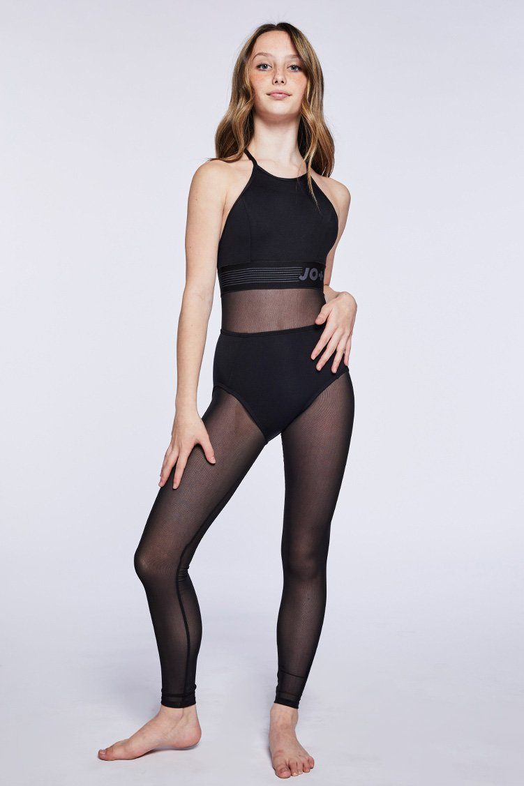 Fame Uni Fitted Wear - One Pieces - Unitards Jo+Jax Black Youth Small