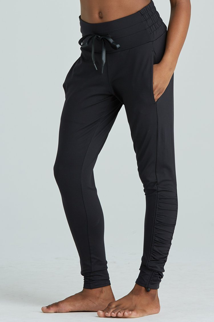 Fiora Pant Warm-ups - Bottoms - Pants Jo+Jax Black X-Small Adult