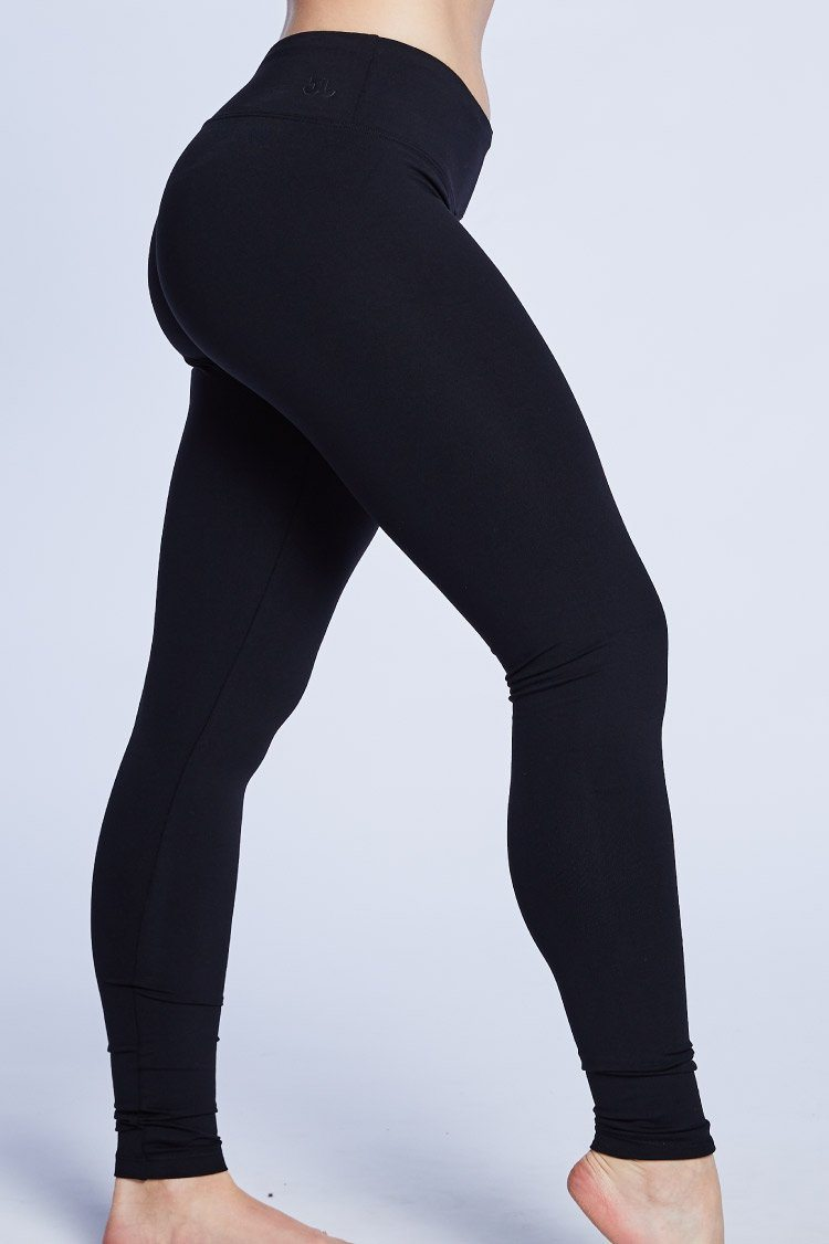 Go To Legging Fitted Wear - Bottoms - Leggings KH Black XX-Small Adult