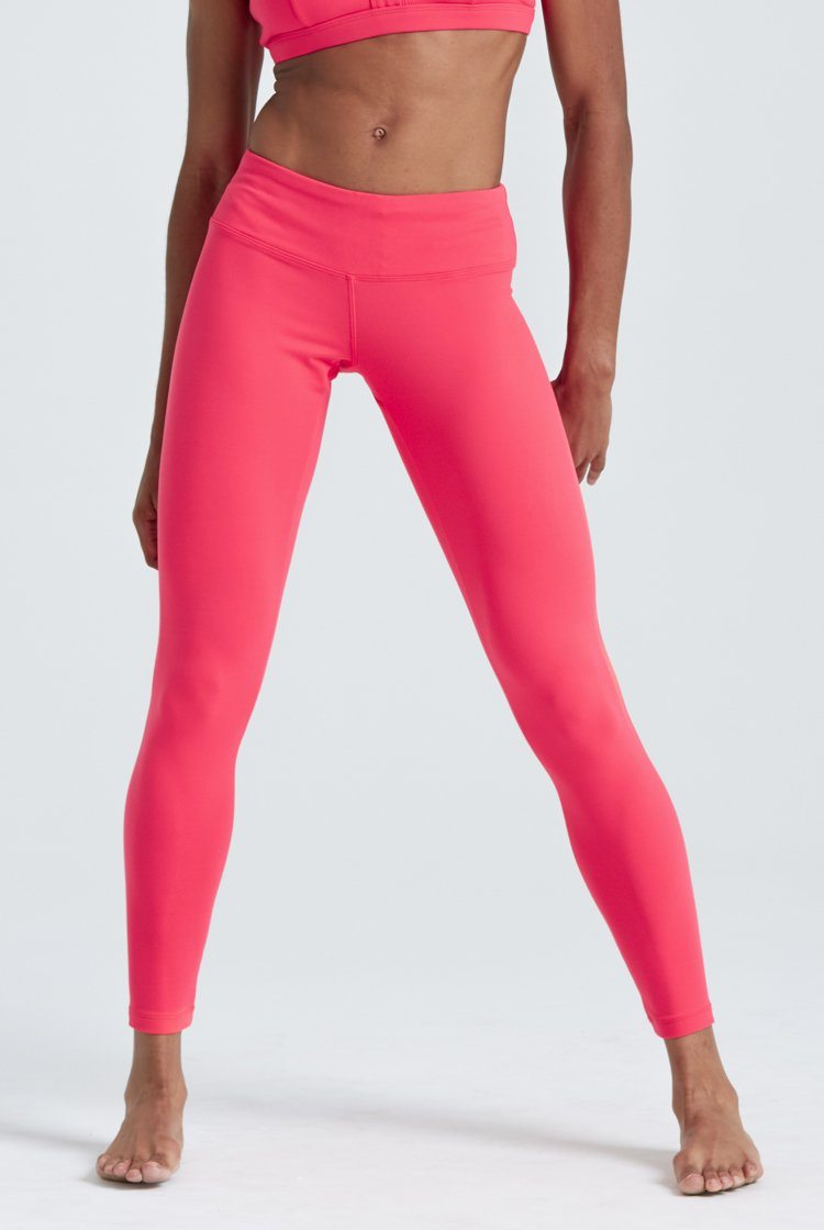 Go To Legging Fitted Wear - Bottoms - Leggings KH Coral Large Adult