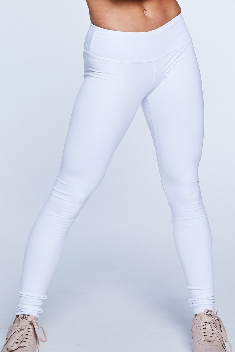 Go To Legging Jo+Jax White X-Small Adult