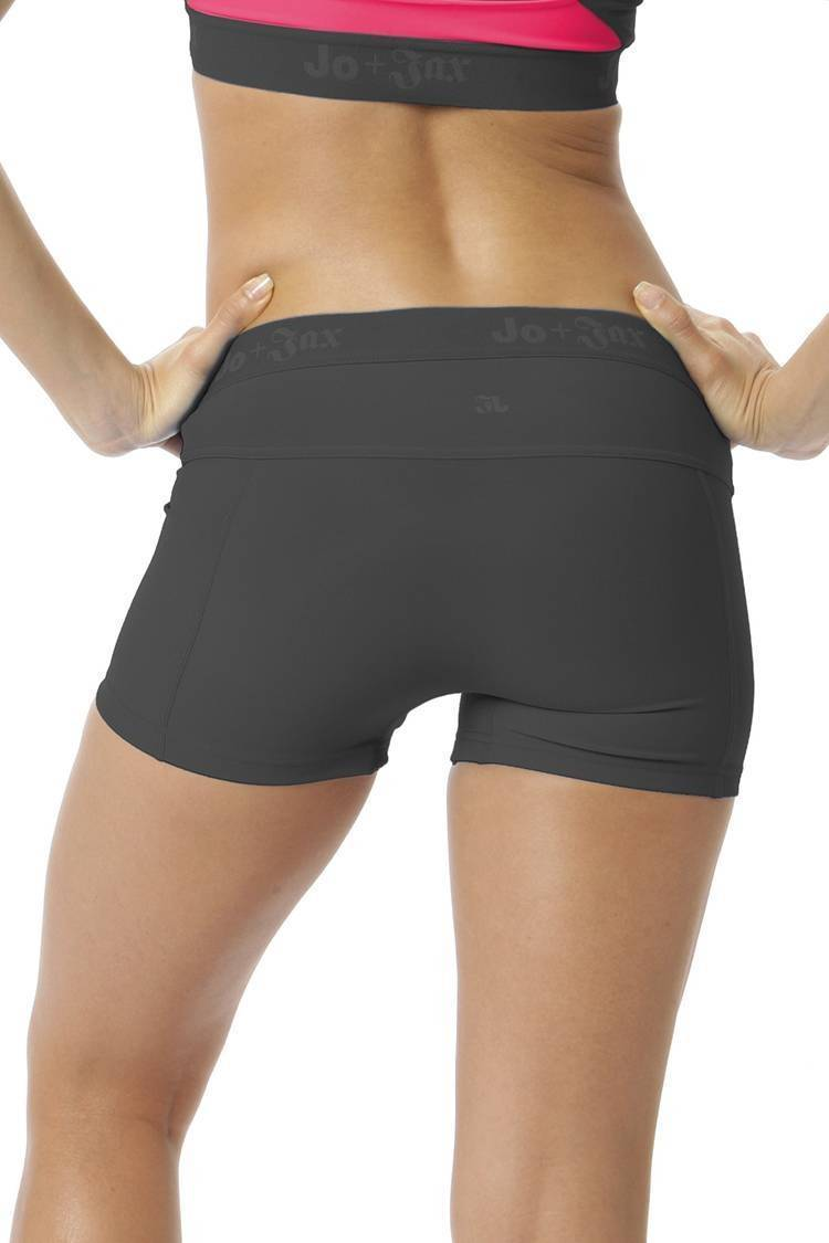 Pro Shorts Fitted Wear - Bottoms - Shorts Jo+Jax Gray X-Small Adult
