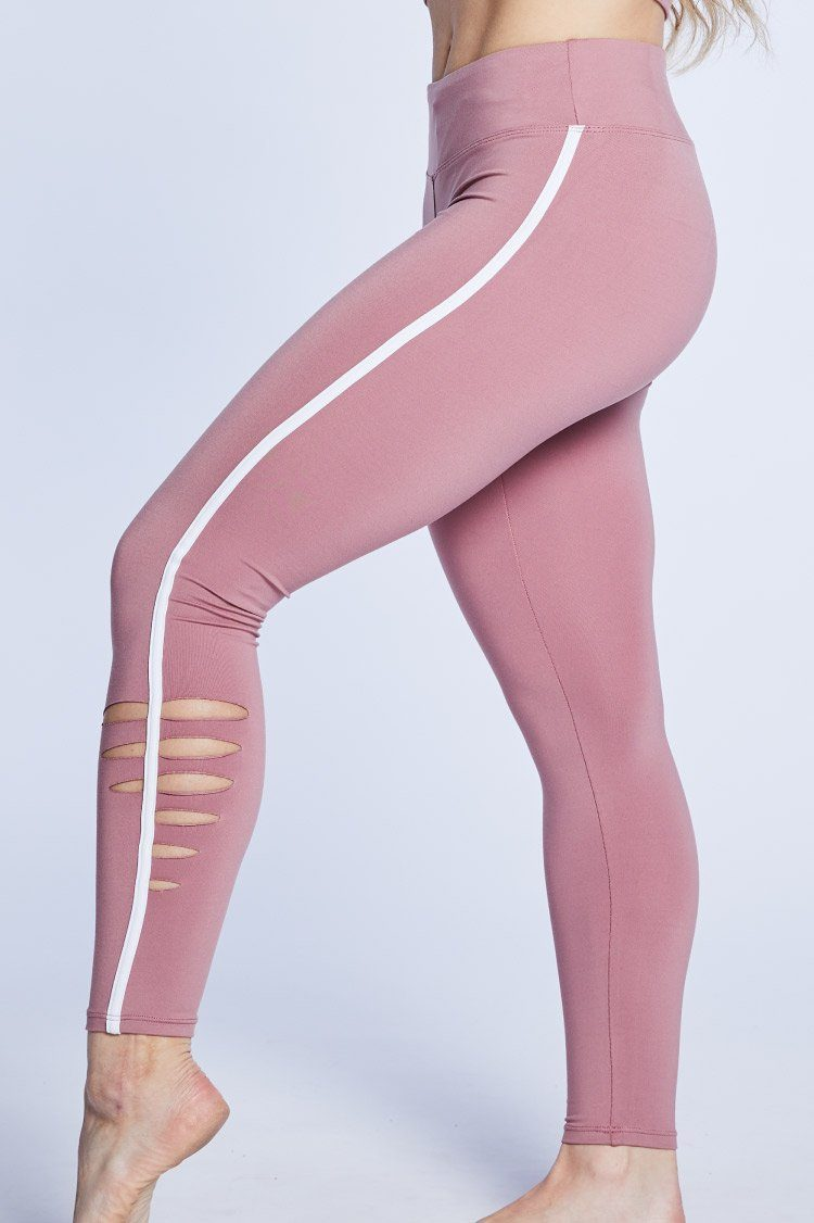 Pulse Legging Fitted Wear - Bottoms - Leggings Jo+Jax Ash Rose XX-Small Adult