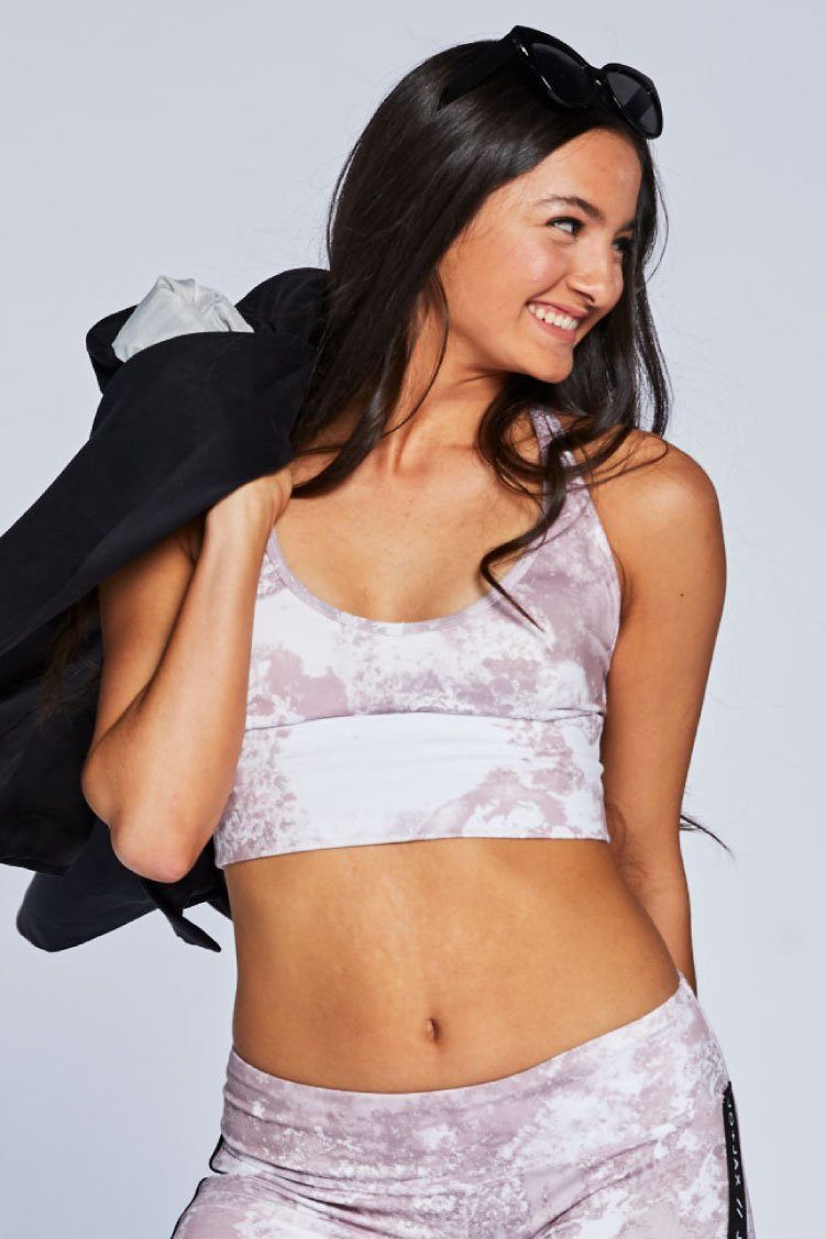 Racer Tri-Crop Fitted Wear - Tops - Bra Tops Jo+Jax