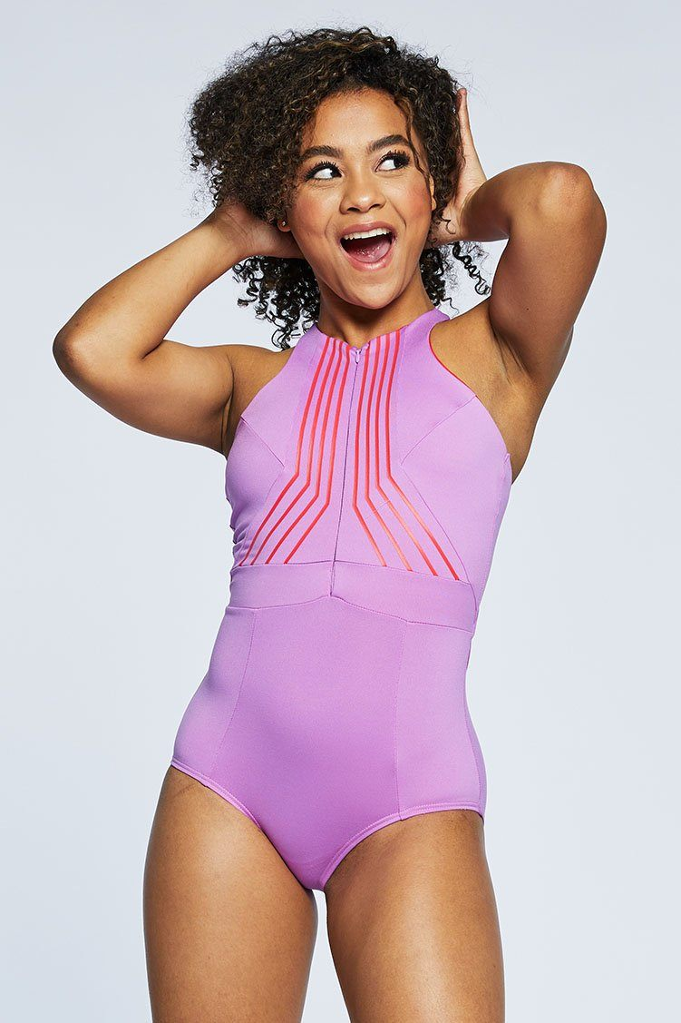 River Leo: Orchid Fitted Wear - One Pieces - Leotards Jo+Jax Orchid XX-Small Adult